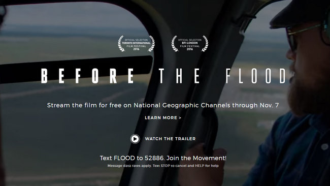 Before the Flood - Mozilla Firefox 7312017 114923 PM