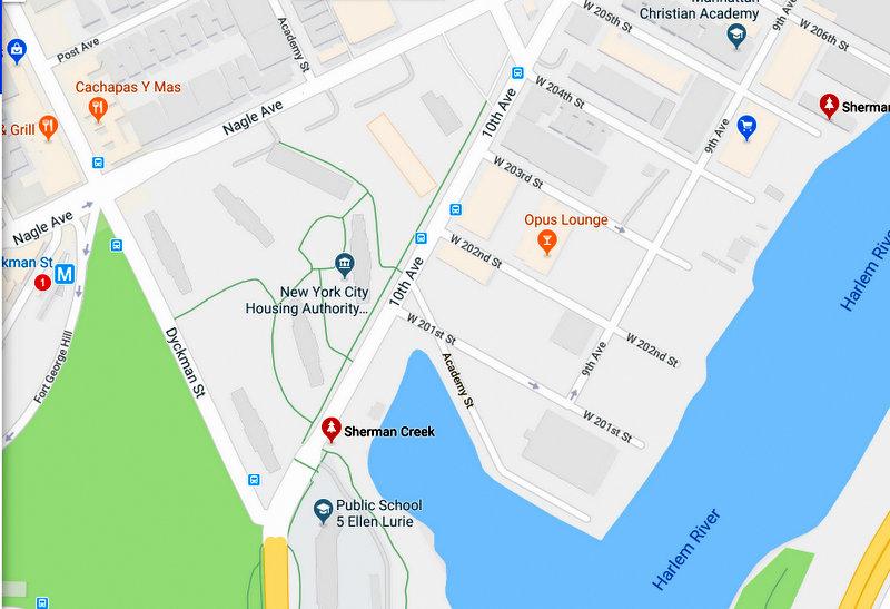 sherman creek - Google Maps - Google Chrome 7292018 91138 PM